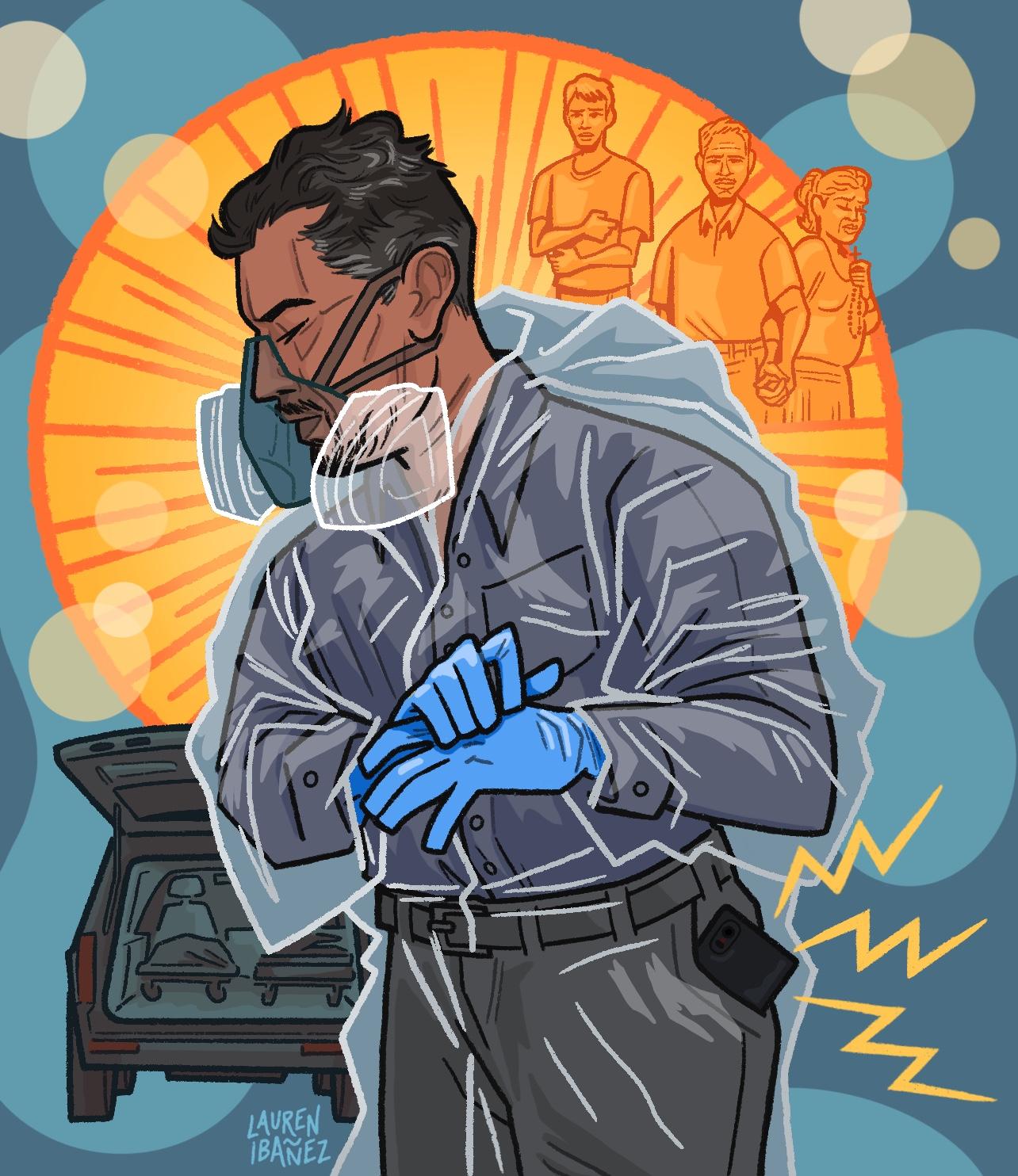 Illustration of Juan Lopez